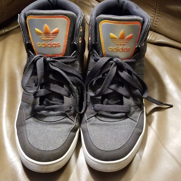 adidas Other - Adidas EVH 791004 Grey / Orange Gradient High Tops